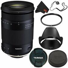 6Ave Tamron 18-400mm f/3.5-6.3 Di II VC HLD Lens Canon EF (Intl Model) + 72mm UV