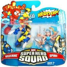 Marvel Superhero Squad - Wolverine & Spiral action figure