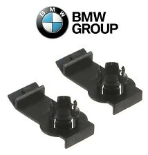 NEW BMW E53 X5 Set of 2 Front Window Regulator Clips Left + Right OES