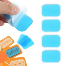 10PC Replacement Gel Sheet Pad for EMS Muscle Training Gear ABS Fitness K6