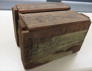 WWII Harley-Davidson 36 Piston Sets for 45 Unopened wooden crate +.020 O/S NOS