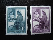 HONGRIE - timbre yvert et tellier n° 1110 1111 n** (C5) stamp hungary
