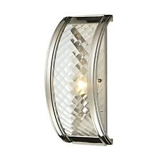 Elk Lighting 31460/1 Chandler Collection 1 Light Sconce Polished Nickel