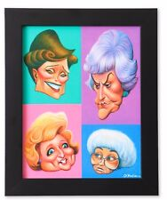 A Tribute To The Golden Girls Framed Giclée Print By Artist David O'keefe