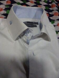 T M +38-40 HOMMElot blanc ,chemise habillée  et polo.== brice