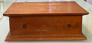 "STICKLEY FURNITURE Wood Desk Storage Box MISSION COLLECTION 10""x 7-3/8""x 3-1/2"""