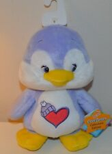Peluche BISOUNOURS Cousin Penguin care Bears COLLECTOR 23cm NEUF 2003 Play Along