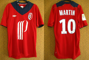 Maillot LOSC Lille Umbro By Tailored Rouge Martin #10  Jersey - 107 cm