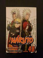 NARUTO VOLUME #48 VIZ MANGA BOOK PAPERBACK NOVEL anime