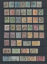 Belgium 1865 - 1900 collection, 49 stamps