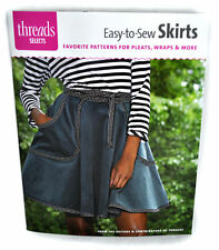 Threads Selects Easy-To-Sew Gonne Cucito Libro
