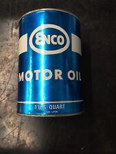 Enco vintage motor oil 1 quart SAE 40