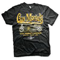Gas Monkey Garage GMG Green Hot Rod T Shirt Mens Custom Car