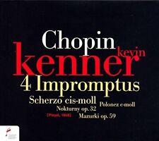Kevin Kenner - Preludes, Nocturnes and Impromptus [CD]