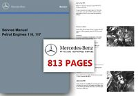 Mercedes M116 M117 Service Manual r107 w126 380 500 SL SLC SE SEC SEL Workshop