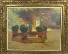 C4-043. THE ALHAMBRA. OIL ON CANVAS. ANTONI TORRES FUSTER. 1926