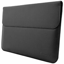 "Snugg 12"" Tablet iPad Laptop Protective Sleeve Black PU leather"