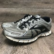 Brooks Mens Adrenaline GTS 17 Running Shoes Gray DNA Sneakers 11.5 D