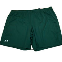 Under Armour Mens Shorts Size 4XL Green New NWT A208