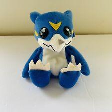 "1997 Bandai Veemon Digimon Bean Plush 6"" Plush Toy"