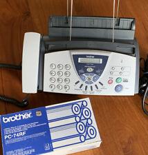 Brother Fax-T106 + PC-74RF 4 Neue Ovp Nachfüll Farbbänder