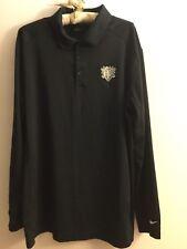 Nike Golf Tour Performance Long Sleeve Victory Polo Shirt Dri-Fit Size Xl