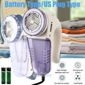 VoTii Lint Remover Electric Rechargeable with A Spare Blade Fabric Shaver Bobble Remover for Clothes