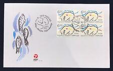 Greenland Post Official FDC 1999.05.07. EUROPA Polar Bear - Block of 4