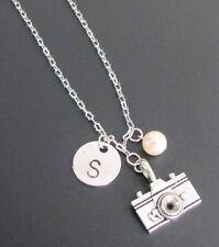 Camera Necklace Handstamped Photographer's Pride necklace,Camera Jewelry
