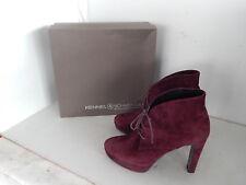 Kennel & Schmenger Stiefeletten Ankle Boots Plateau Wildleder Bordeaux Gr. 40
