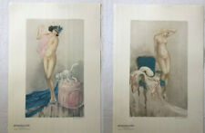 """2 GICLEE LOT OF LOUIS ICART 1987 LIMITED EDITION LARGE 17.5"""" x 26"""""""