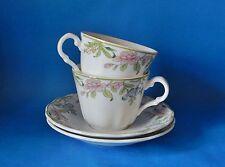 Due ROYAL DOULTON Majestic Collection Sudbury 2nd qualità tè tazze e piattini