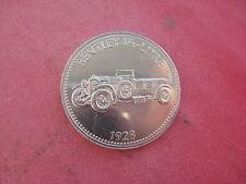 1928 Bentley 4 1/2 LITRO AUTO SHELL COIN TOKEN