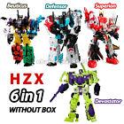 HZX 6 IN 1 Defensor & Bruticus & Superion Devastator Sets IDW Action Figure Toys