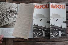 28505 Reise Prospekt NAPOLI 1937