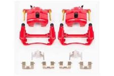 Power Stop S1460 Performance Front Calipers- Red Powder Coat