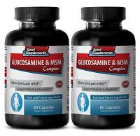 Bone Support - Glucosamine & MSM Complex 3232mg - Glucosamine Sulfate 1500 2B