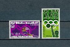 Malagasy  C147-8 MNH, Olympics, 1975