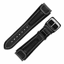Di-Modell CHRONISSIMO Waterproof Calfskin Leather Marine Watch Strap many sizes