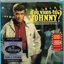 "CD ""D'Où Viens-Tu Johnny ?""  NEUF SOUS BLISTER"