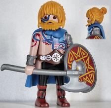 Playmobil romain - barbare - gaulois - celte - germain - guerrier #8B - custom