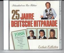 CD:  1988 – 25 Jahre Deutsche Hitparade