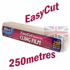 Bacofoil Easy Cut Catering Dispenser Cling Film 35cm x 250 Metres Food Storage