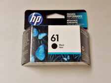 HP #61 CH561WN Genuine Black Ink Cartridge New Sealed Retail Box Decemer 2019