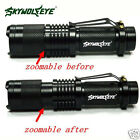 5000Lm X800 CREE XM-L T6 LED Zoomable Flashlight Torch Light Lamp+ 18650+Charger