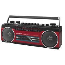 Cassette Boombox With FM Radio Mp3 Red Retro SYLVANIA Src232bt-red Bluetooth 4.2