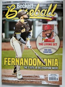 **Current Issue** Fernando Tatis, Jr. Padres Cover May Beckett Baseball Guide