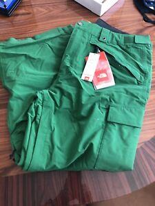 mens northface M Slasher Cargo Ski Pant Size XL