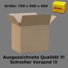 Karton DHL 700x500x600 Versandkarton 70x50x60 cm FALTKARTONS KARTONS