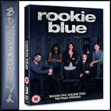 ROOKIE BLUE - SEASON 5 VOLUME 2: THE FINAL EPISODES *BRAND NEW DVD***